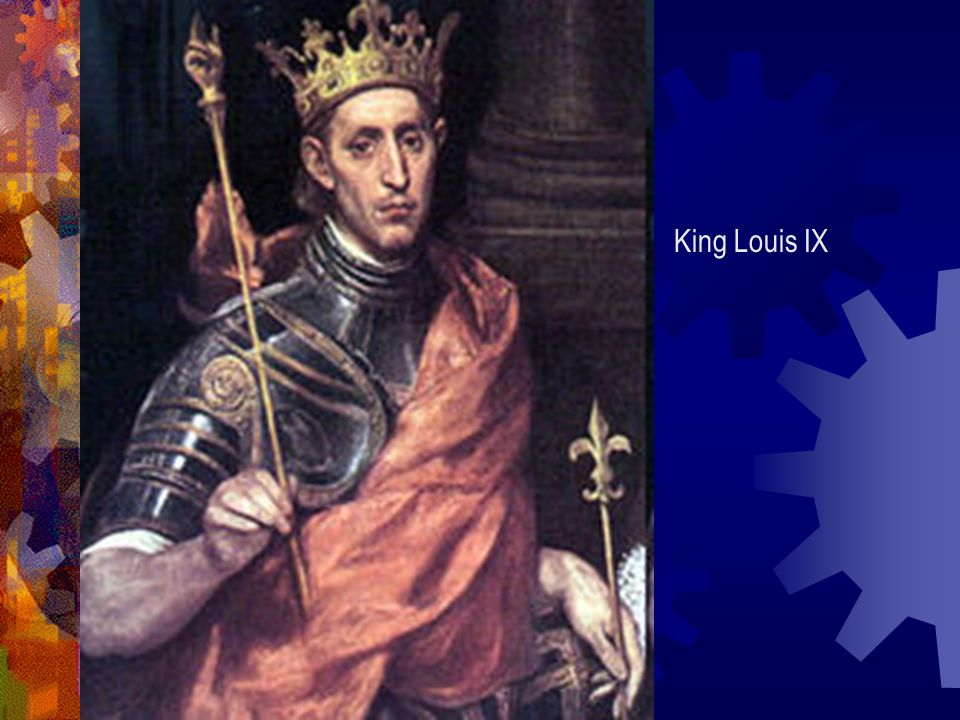 King Louis IX