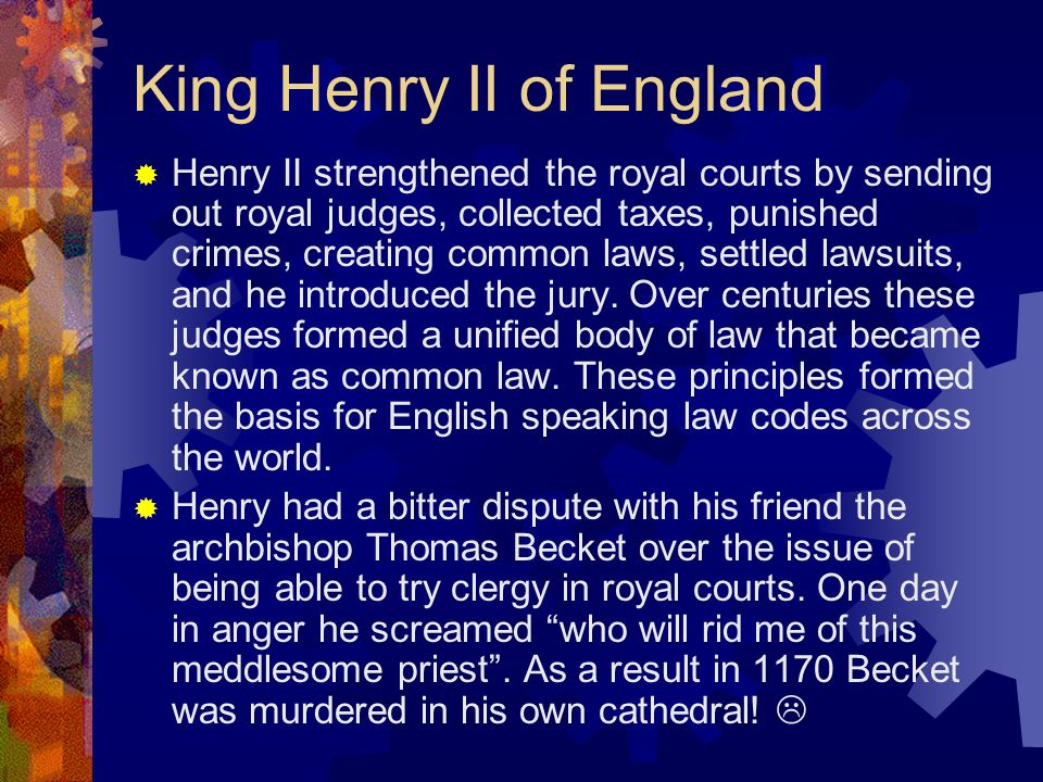 King Henry II of England
