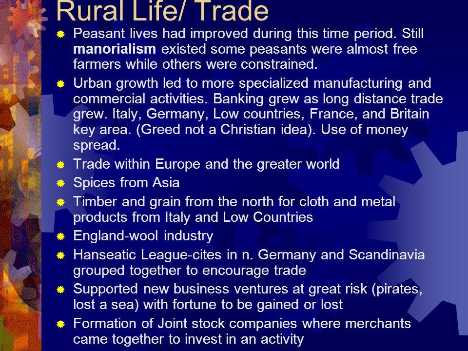 Rural Life/ Trade
