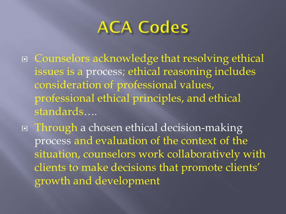 ACA Codes