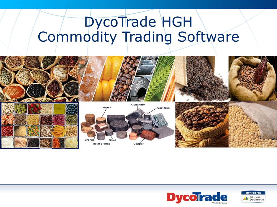 Commodity Trading Software