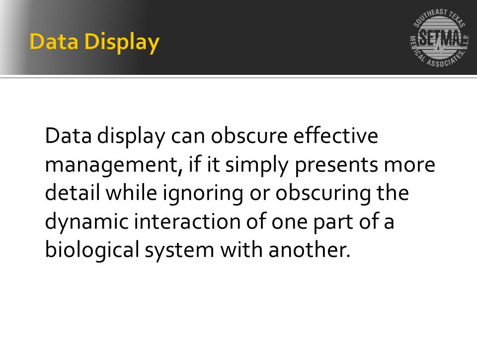 Data Display
