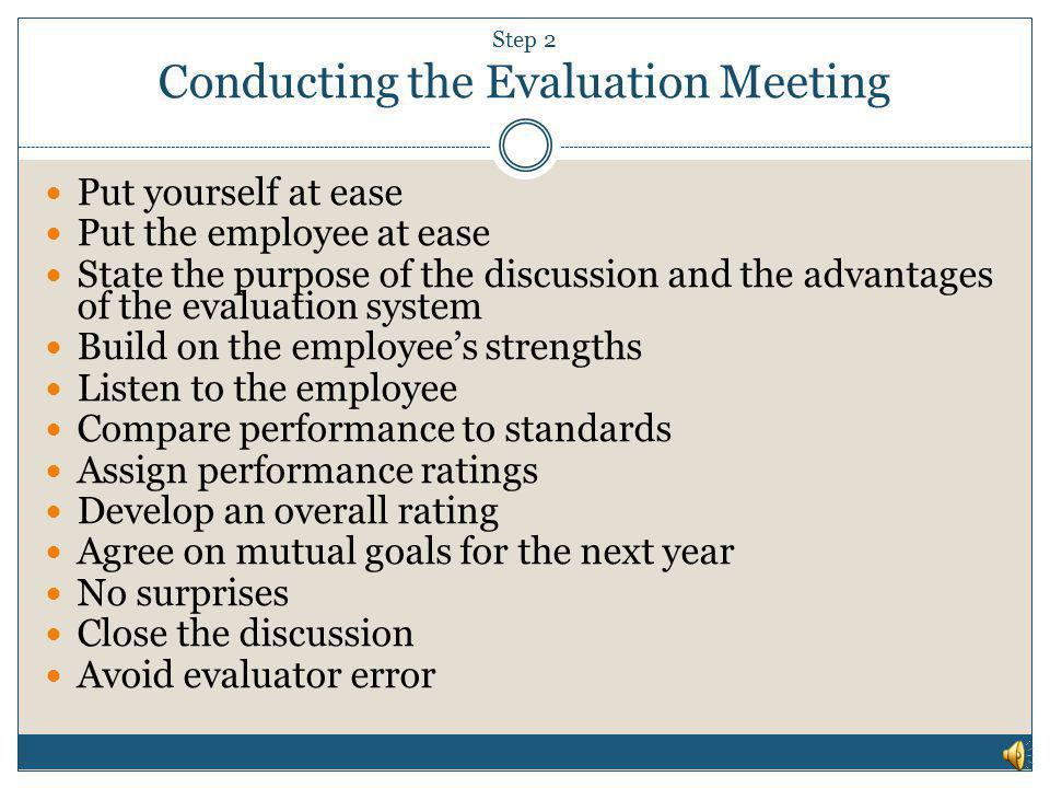 Conducting Performance Reviews - Ppt Download