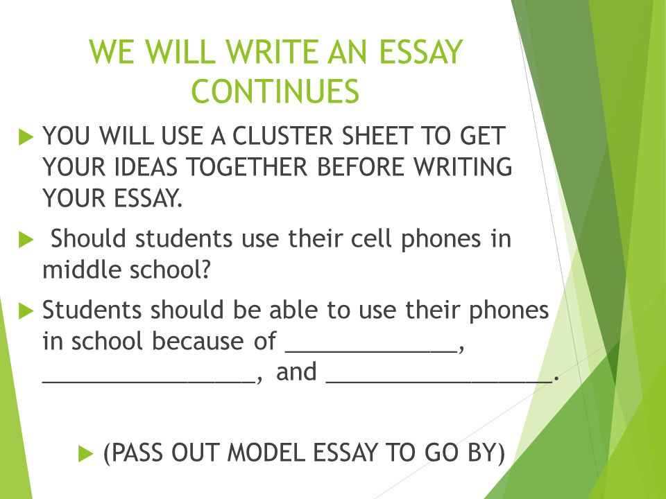 5 paragraph essay about cell phones