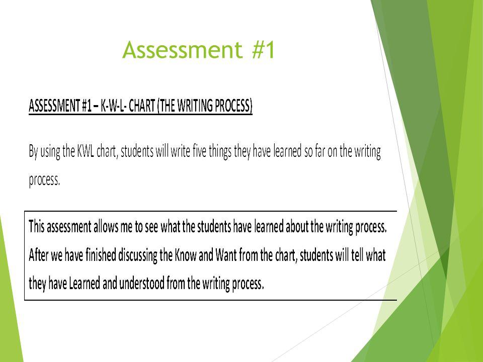 Assessment #1