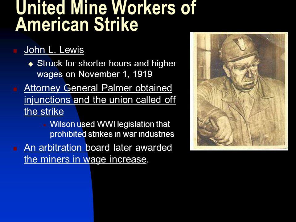 United Mine Workers of American Strike