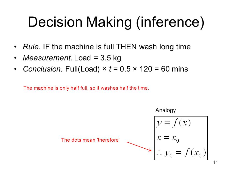 Decision Making (inference)