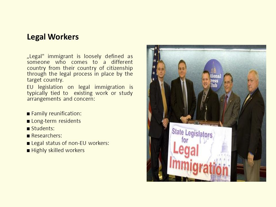Legal Workers