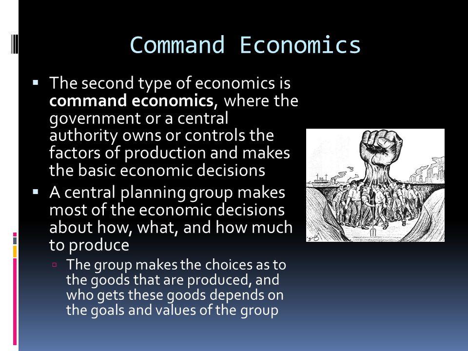 Command Economics
