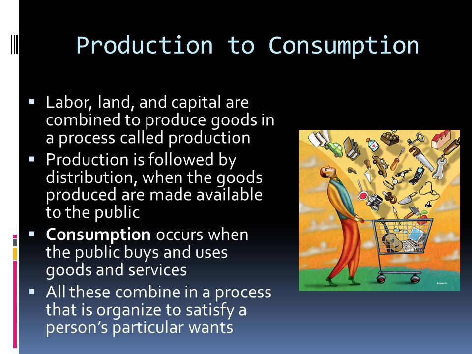Production to Consumption