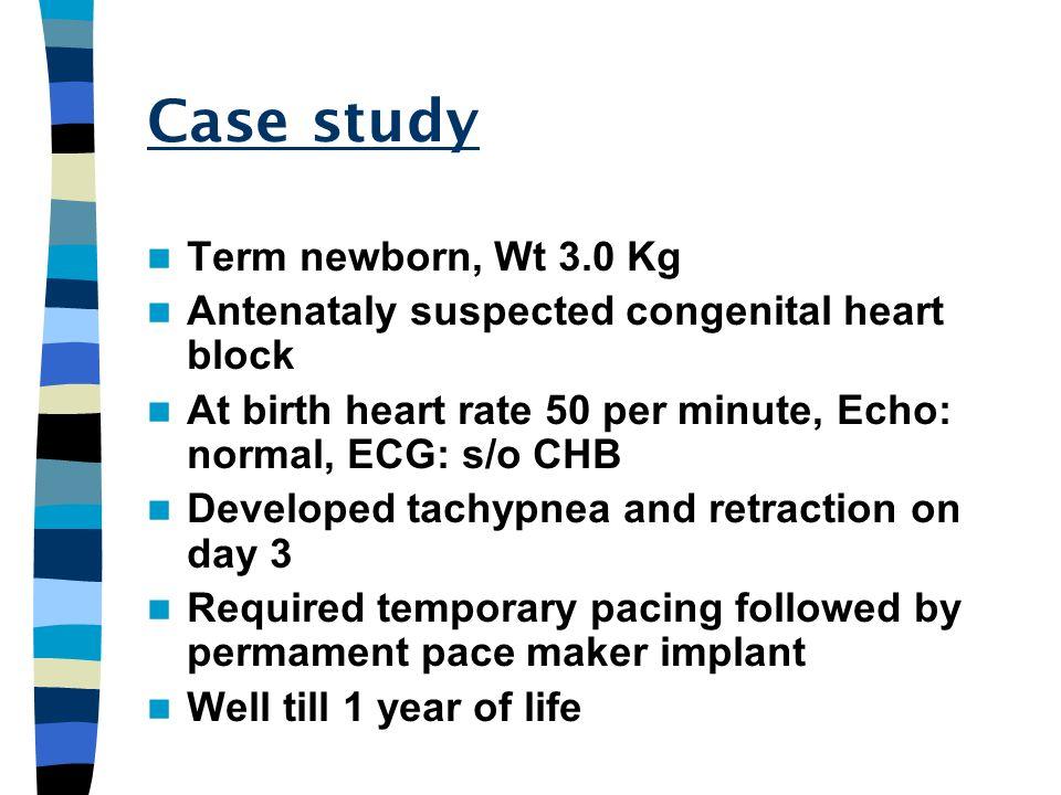 Case study Term newborn, Wt 3.0 Kg