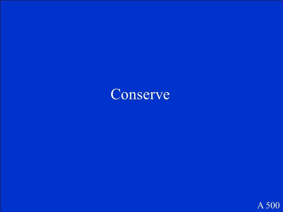 Conserve A 500