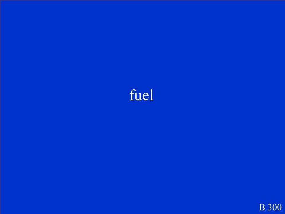 fuel B 300