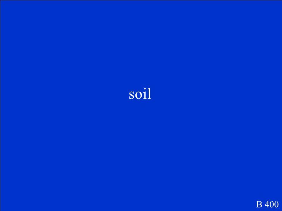 soil B 400