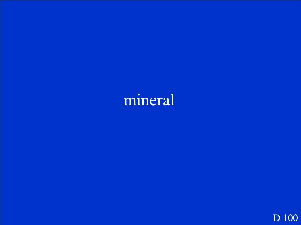 mineral D 100