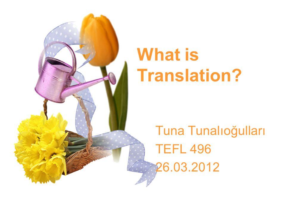 Tuna Tunalıoğulları TEFL 496 26.03.2012