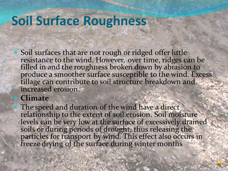 Soil Surface Roughness