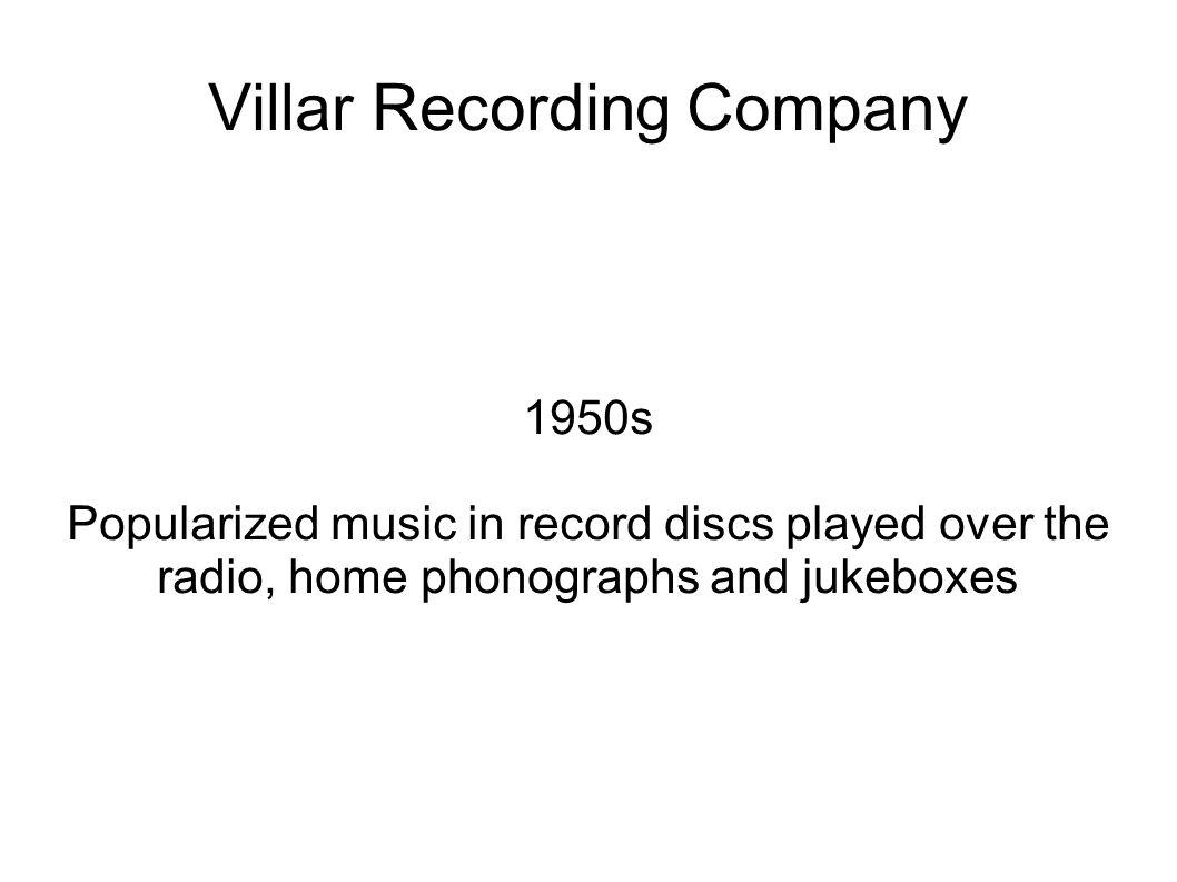 Villar Recording Company