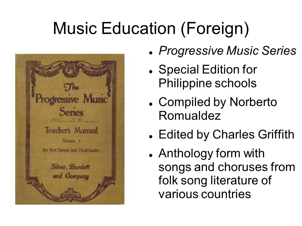 Music Education (Foreign)
