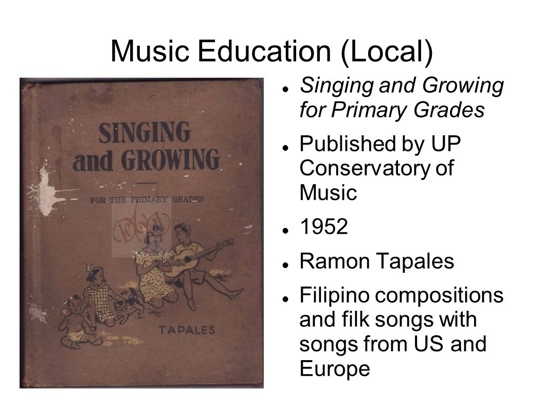 Music Education (Local)