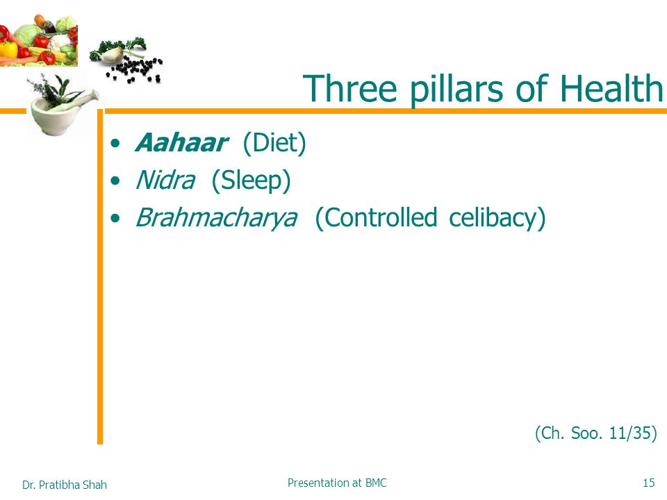 Three pillars of Health