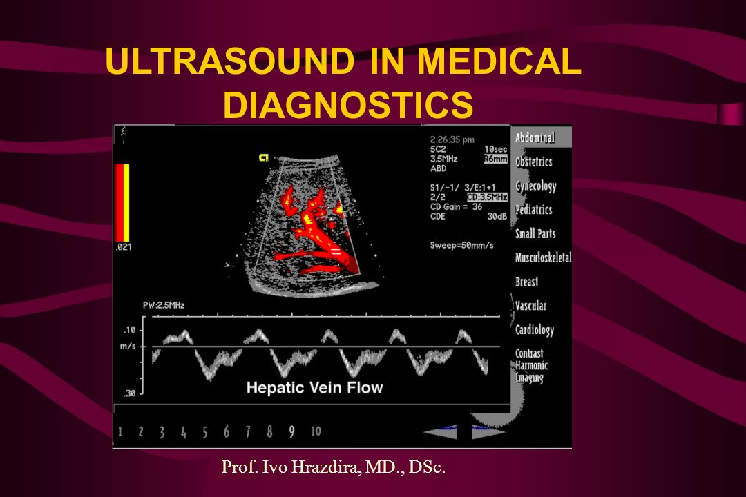 ULTRASOUND IN MEDICAL DIAGNOSTICS