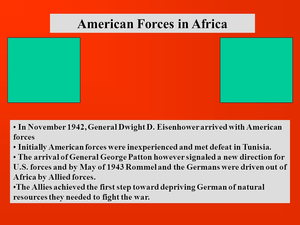 American Forces in Africa