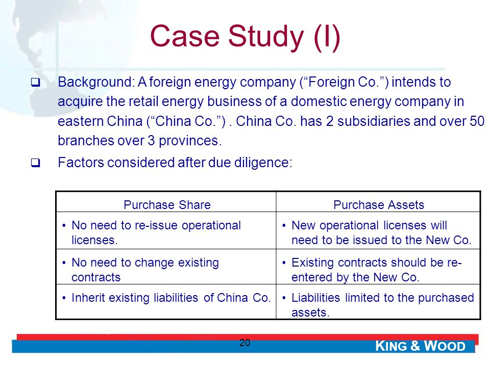 Case Study (I)