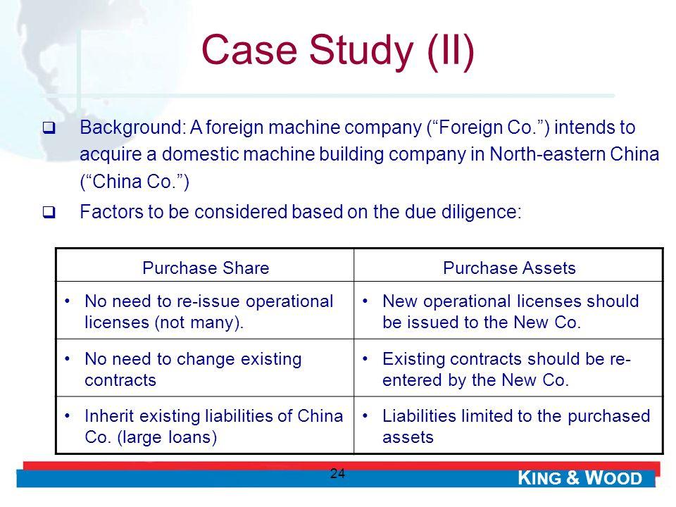 Case Study (II)