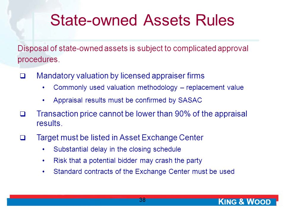 State-owned Assets Rules