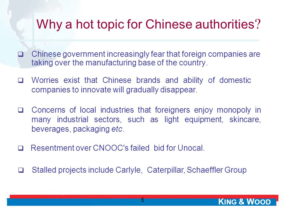 Why a hot topic for Chinese authorities