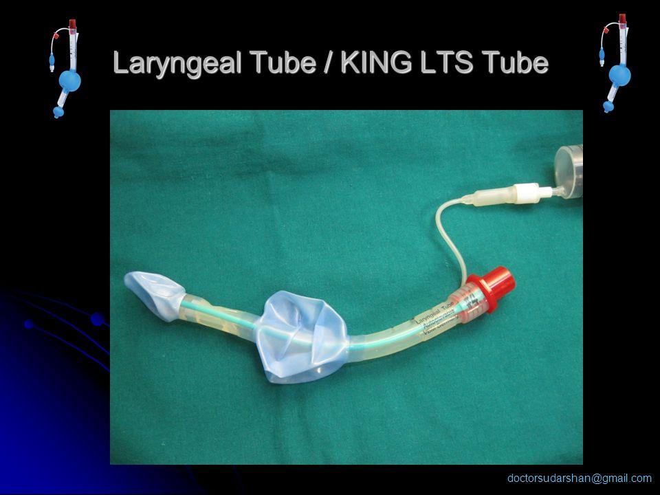 Laryngeal Tube / KING LTS Tube