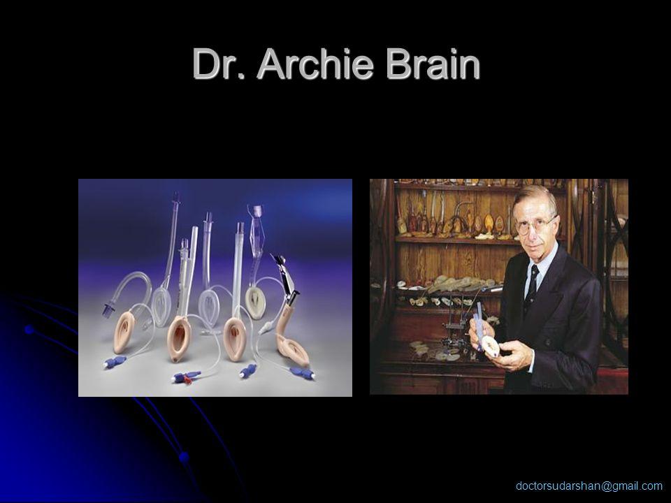 Dr. Archie Brain