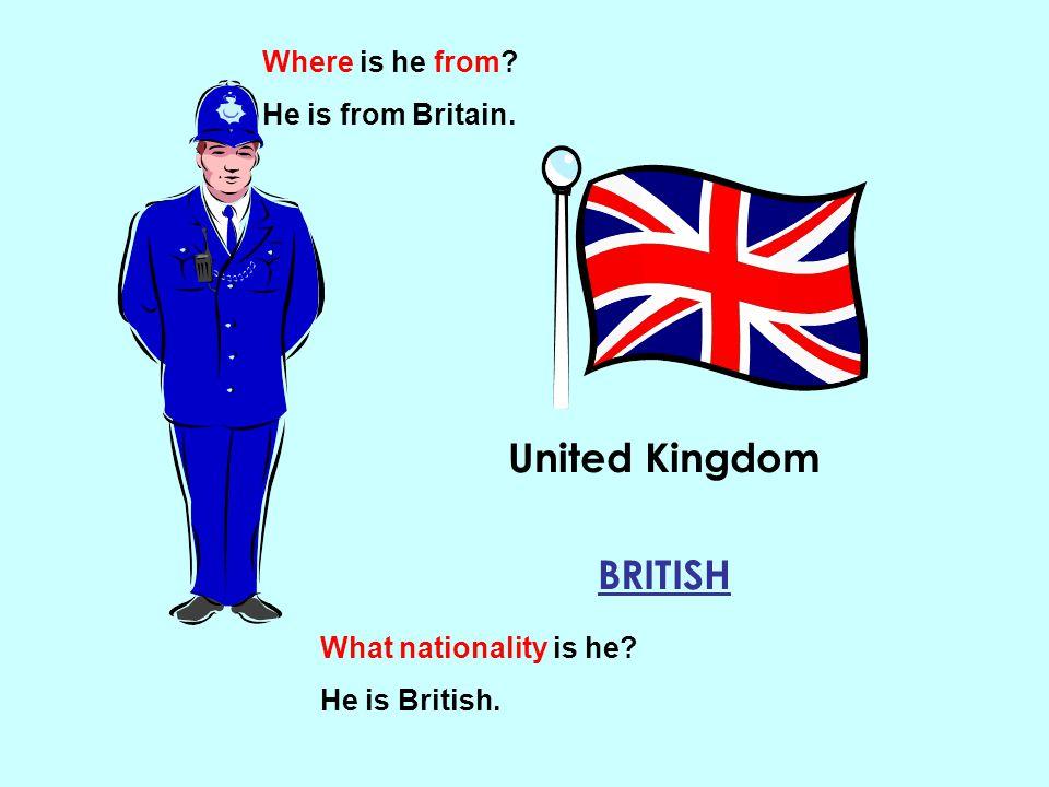 United Kingdom BRITISH