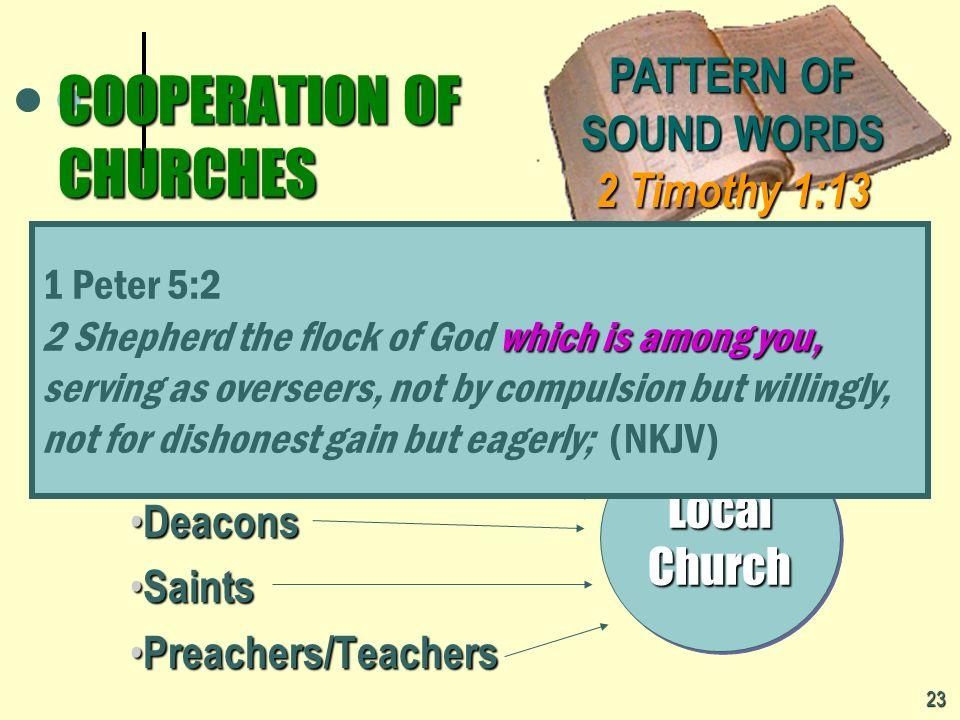 COOPERATION OF CHURCHES