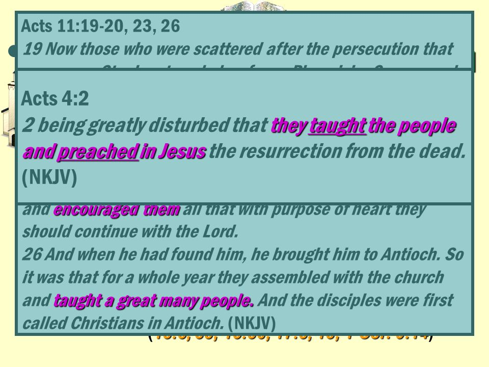EXPLANATION OF GROWTH Acts 4:2