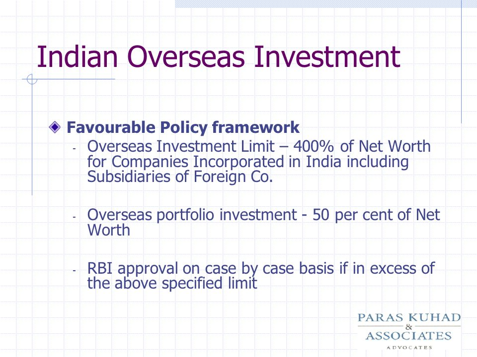 Indian Overseas Investment