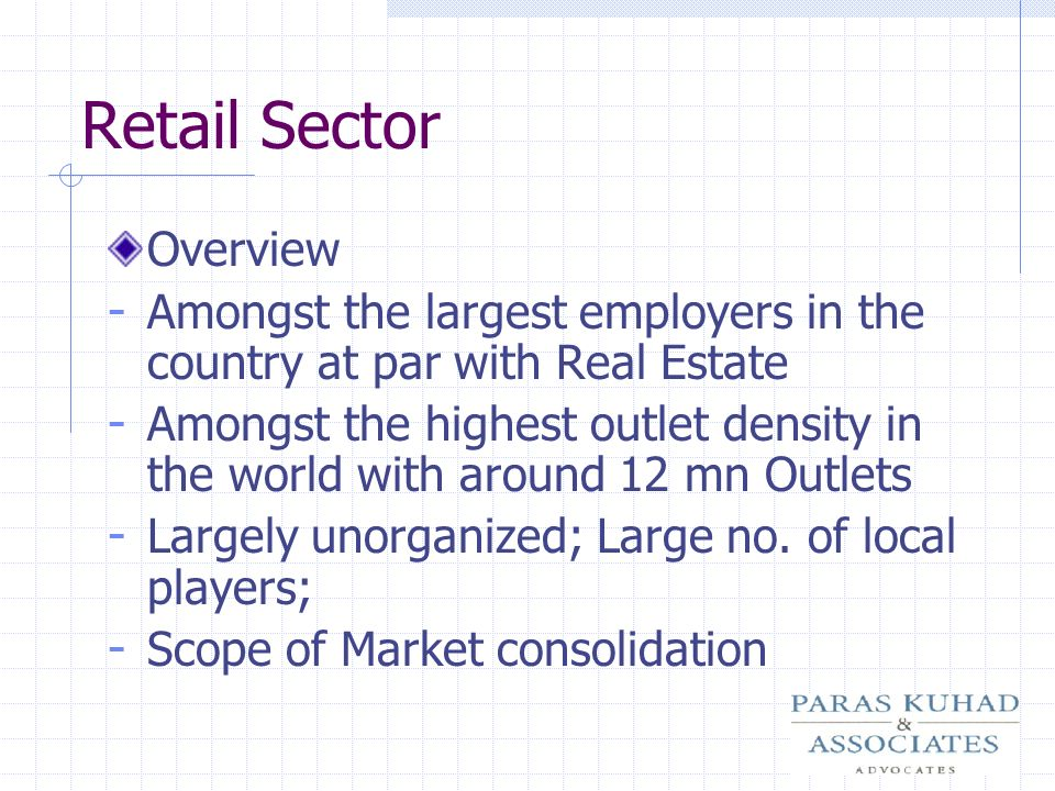 Retail Sector Overview