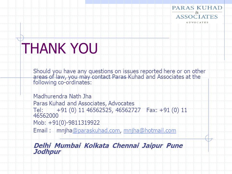 THANK YOU Delhi Mumbai Kolkata Chennai Jaipur Pune Jodhpur