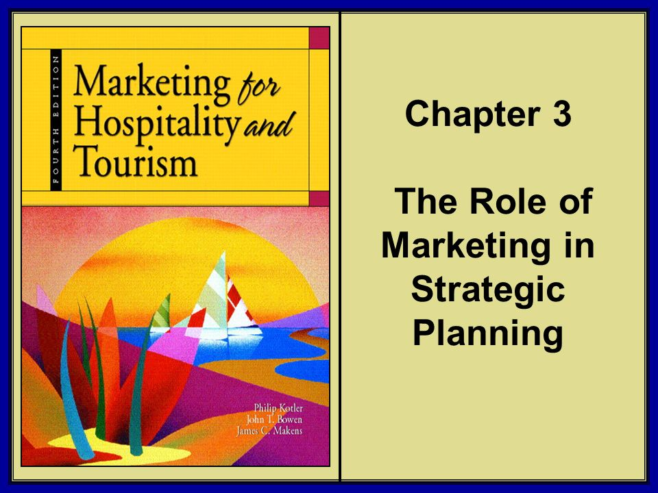 Chapter 3 The Role of Marketing in Strategic Planning