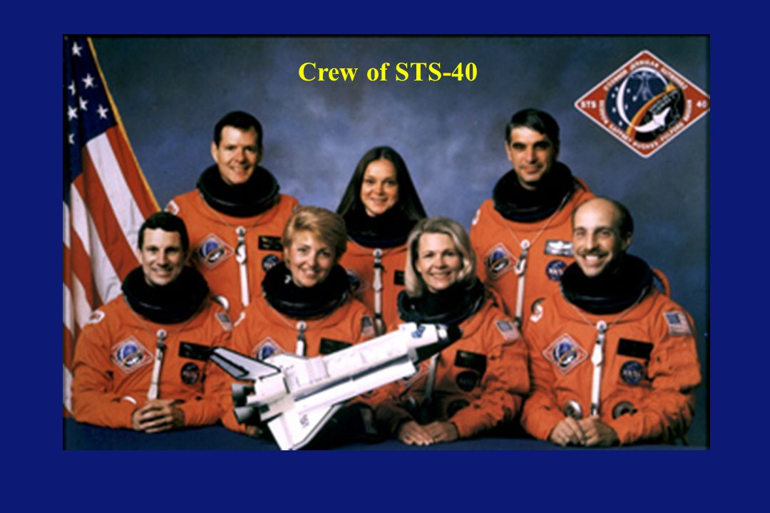 Crew of STS-40 The crew of STS-40 From the top row left to right: