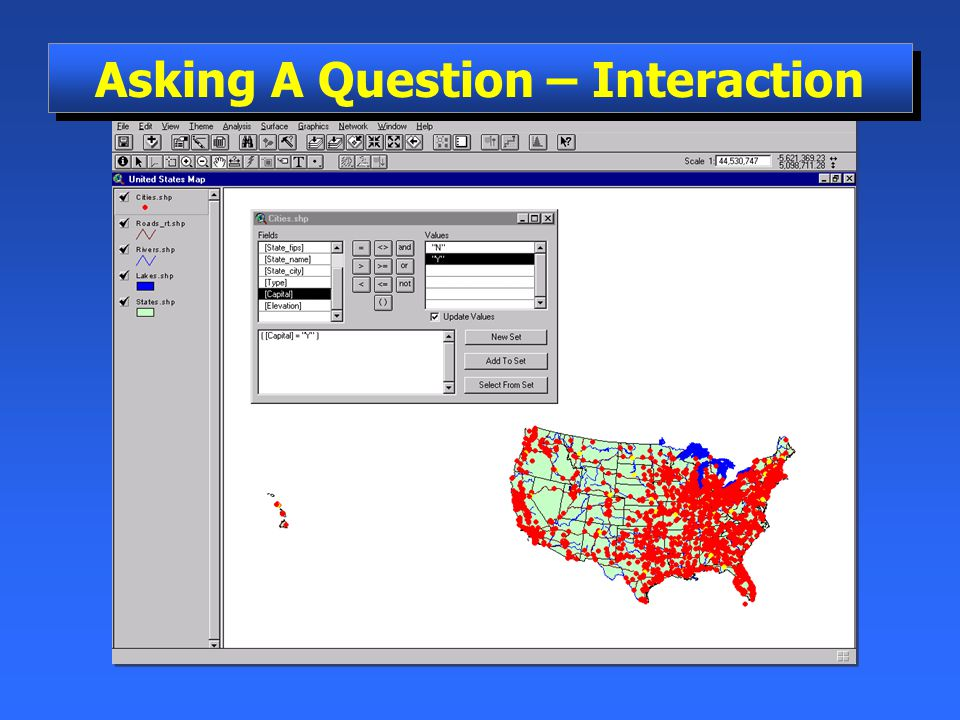 Asking A Question – Interaction