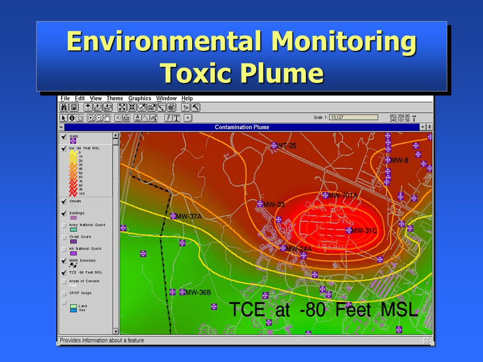 Environmental Monitoring Toxic Plume