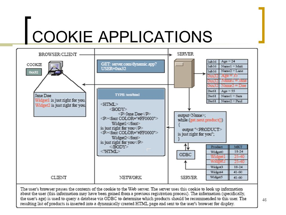 COOKIE APPLICATIONS BA 572 - J. Galván