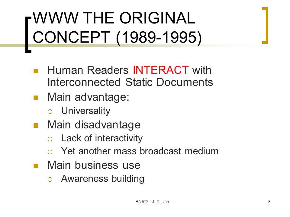 WWW THE ORIGINAL CONCEPT (1989-1995)