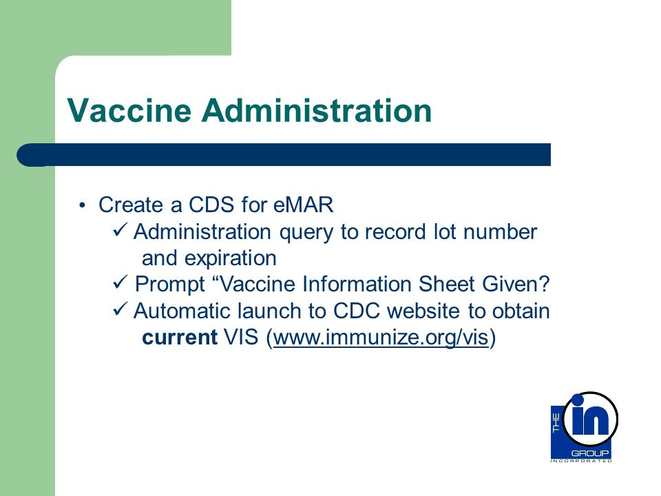 Vaccine Administration