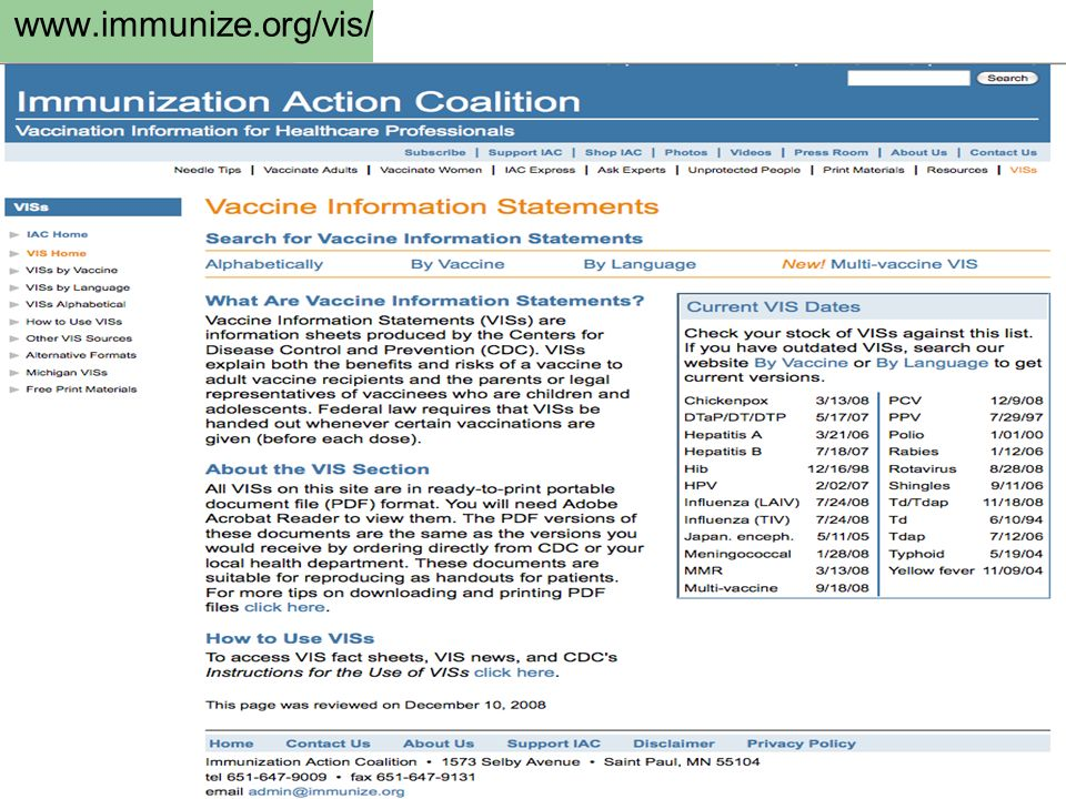 www.immunize.org/vis/