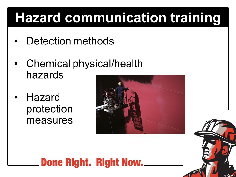 Hazard communication training
