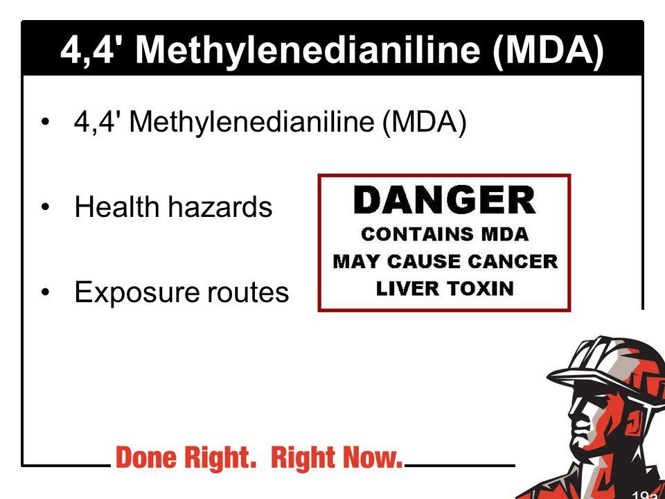 4,4 Methylenedianiline (MDA)