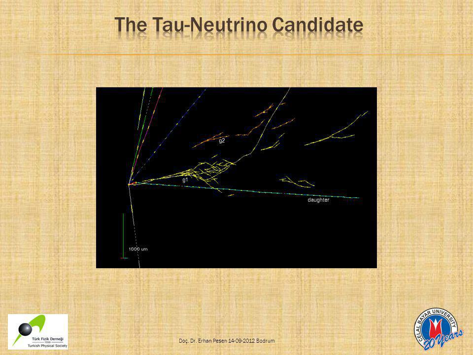 The Tau-Neutrino Candidate